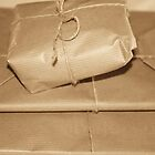 Secrets wrapped in brown paper by Clare Colins
