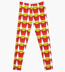 French Fries Carton Leggings