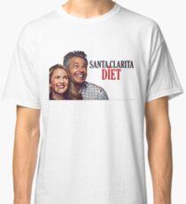 Santa Clarita Diet, tv series, horror, comedy, good vibes, hilarious, memes, jokes, puns, culture, cinema, hobbies, occupations, art style, decor style Classic T-Shirt