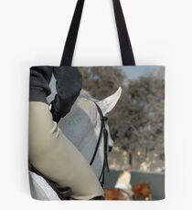 In the warm-up arena Tote Bag
