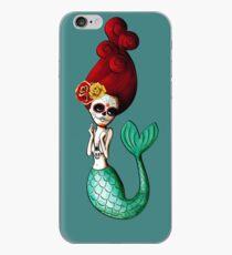 El Dia de Los Muertos Mermaid iPhone Case