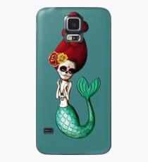 Funda/vinilo para Samsung Galaxy Sirena El Dia de Los Muertos