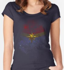 Cosmic Star Fitted Scoop T-Shirt