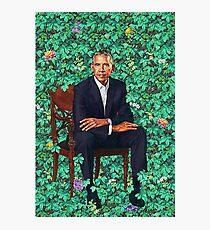 Obama-Porträt Fotodruck