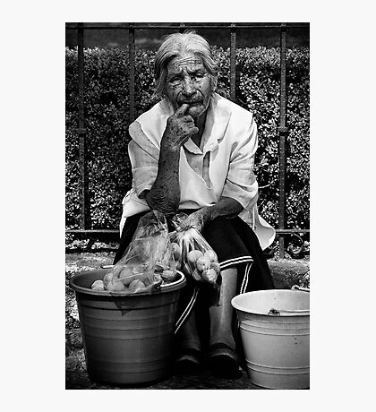 The Peach Seller Photographic Print