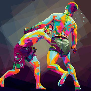 Khabib Nurmagomedov Las Vegas UFC 229  by vicekingwear