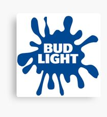 Bud Light Creative Gift Idea - American Beer Canvas Print