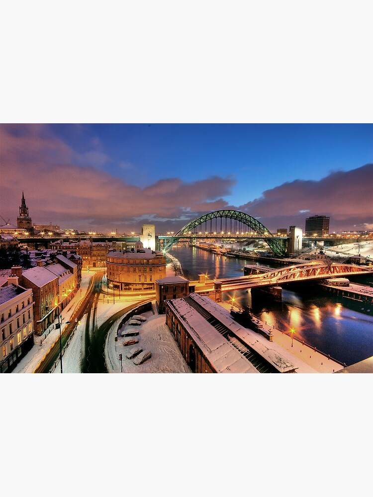 Newcastle in winter by tontoshorse