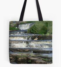 The Cascades Waterfalls in Ennistymon, Clare, Ireland Tote Bag