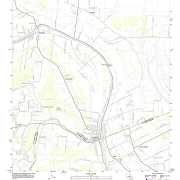 USGS TOPO Map Louisiana LA Arnaudville 20120423 TM by wetdryvac