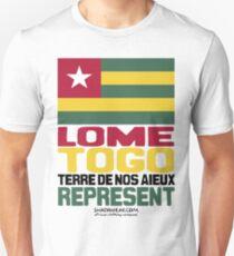 Lome, Togo, Represent Unisex T-Shirt