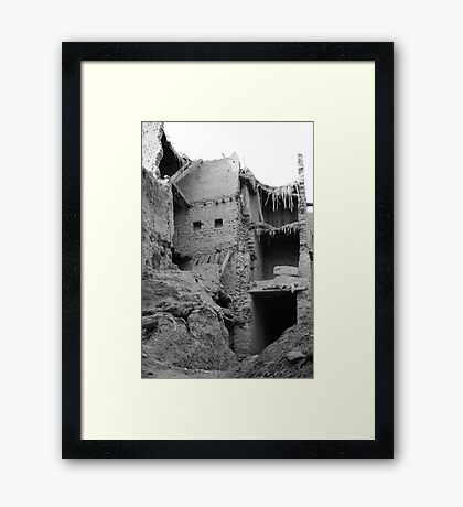 Ashes to ashes, dust to dust... Framed Print