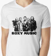 Roxy Music V-Neck T-Shirt