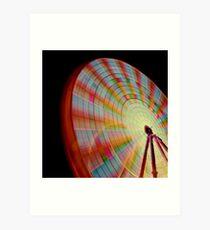 A Swirl of Colour 2 Art Print