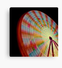 A Swirl of Colour 2 Canvas Print