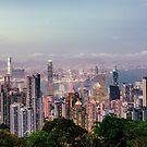 Hongkong sunset 2 by Pascal Deckarm