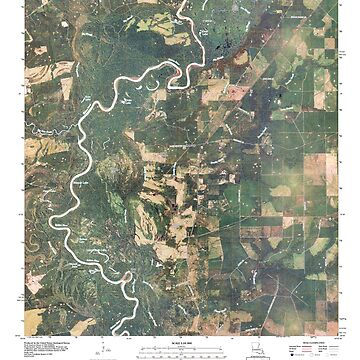USGS TOPO Map Louisiana LA Bancroft 20100525 TM by wetdryvac