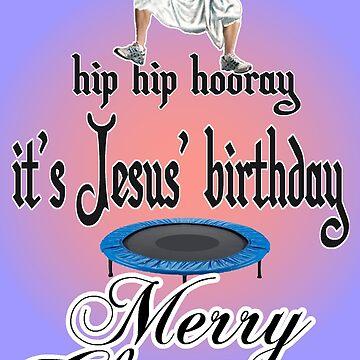 Jesus Christmas by loganferret