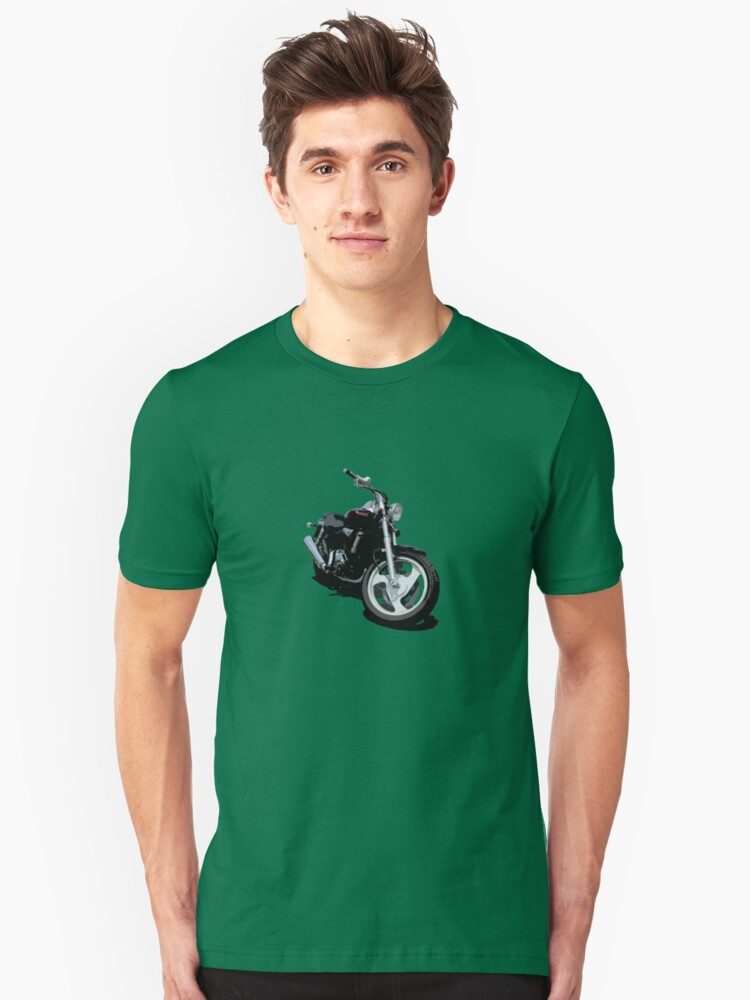 Candy Red Flamed Cruiser Unisex T-Shirt Front