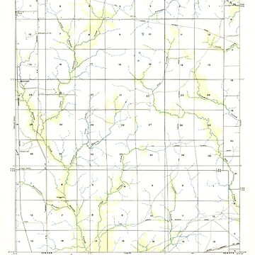 USGS TOPO Map Louisiana LA Bannister 333623 1947 31680 by wetdryvac