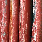painted red..... by Lynne Prestebak