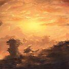 Sonnenuntergang von unikatdesign