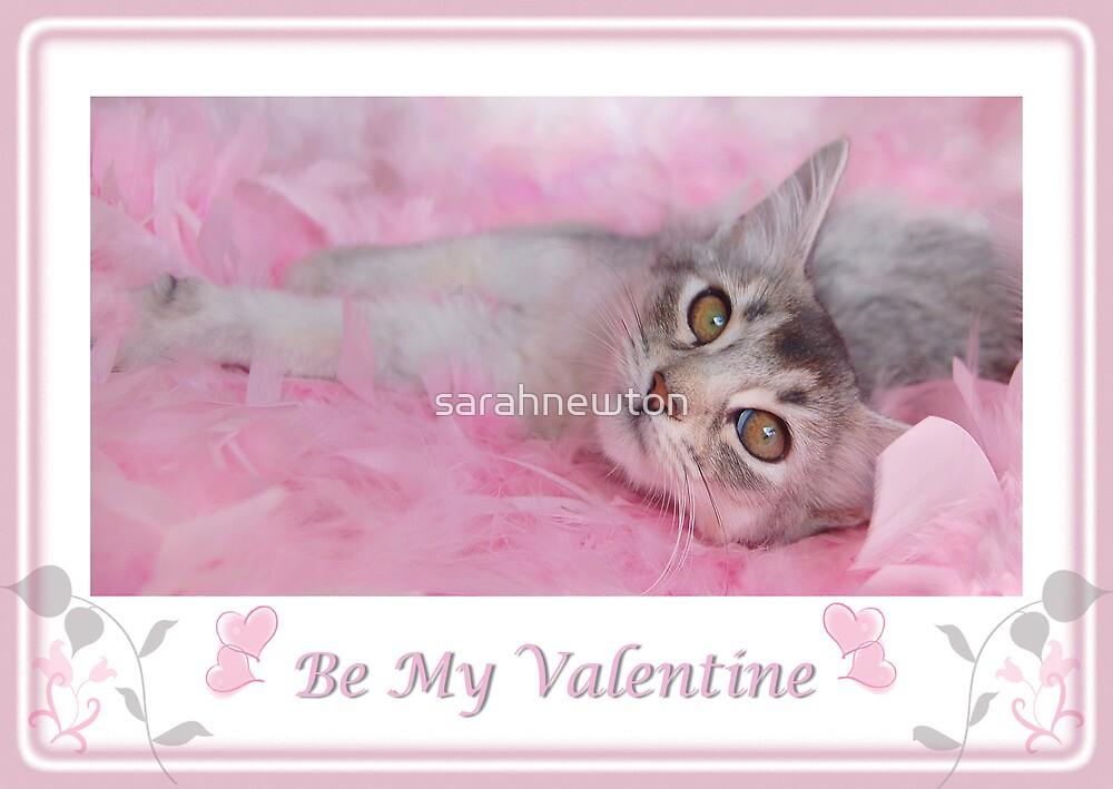 Valentine Kitty by sarahnewton