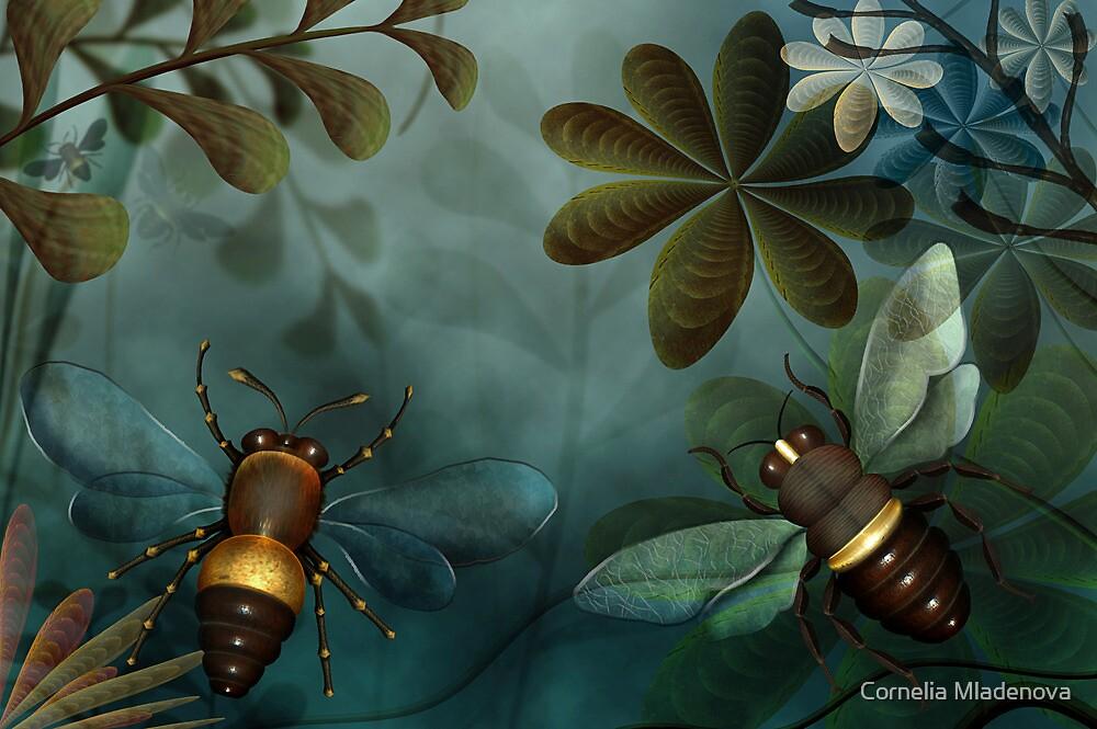 Giant Bees by Cornelia Mladenova