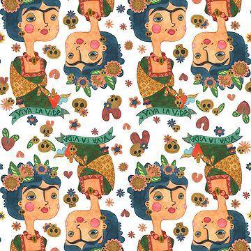 Frida Kahlo rapport  de CatalanART