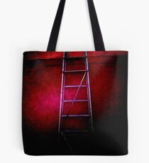 Rising out of darkness Tote Bag