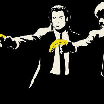 Banksy pulp fiction bananas by furioso