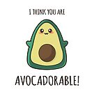 Avocado Kawaii by AnishaCreations