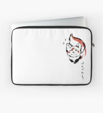 Little Kitsune Ink with sounds. Laptop Sleeve