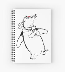 Kamikaze Japanese style Inking. Spiral Notebook