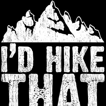 I'd hike that by Wuselsusel