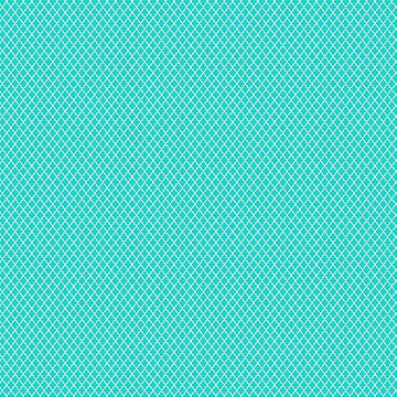 seamless oriental pattern grid  , turquoise - traditional morocco style pattern by ohaniki