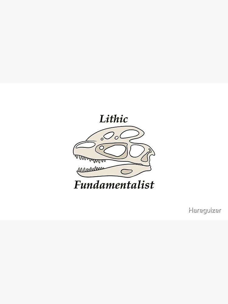 Fundamentalista litico de Hareguizer