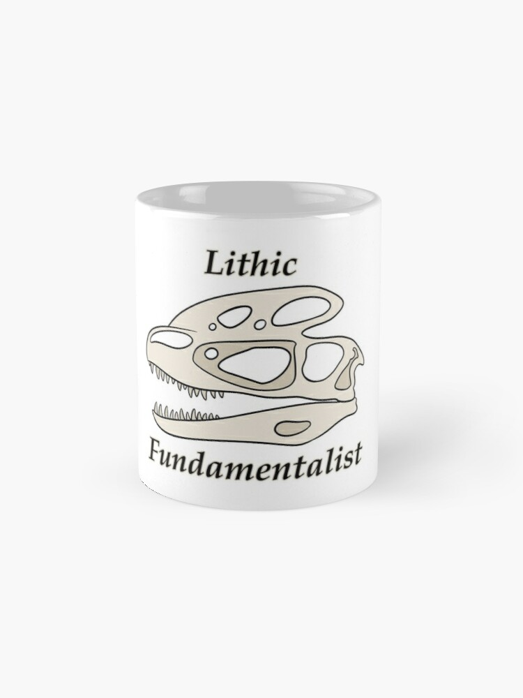 Vista alternativa de Tazas Fundamentalista litico