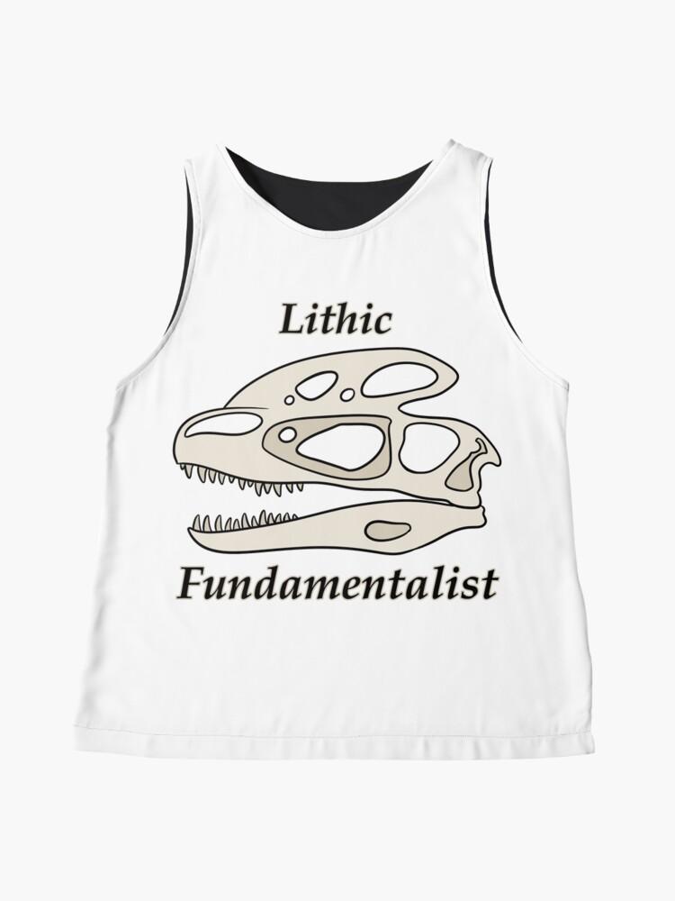 Vista alternativa de Blusa sin mangas Fundamentalista litico