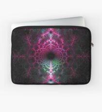 Sinister Ice Crystal - Fractal Artwork Laptop Sleeve