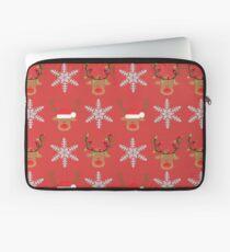 Reindeers - Merry Christmas Laptop Sleeve