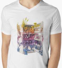 Moldy Fridge - Who Forgot the Hum(m)us? Men's V-Neck T-Shirt