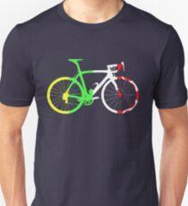Bike Tour de France Jerseys (Vertical) (Big)  Slim Fit T-Shirt