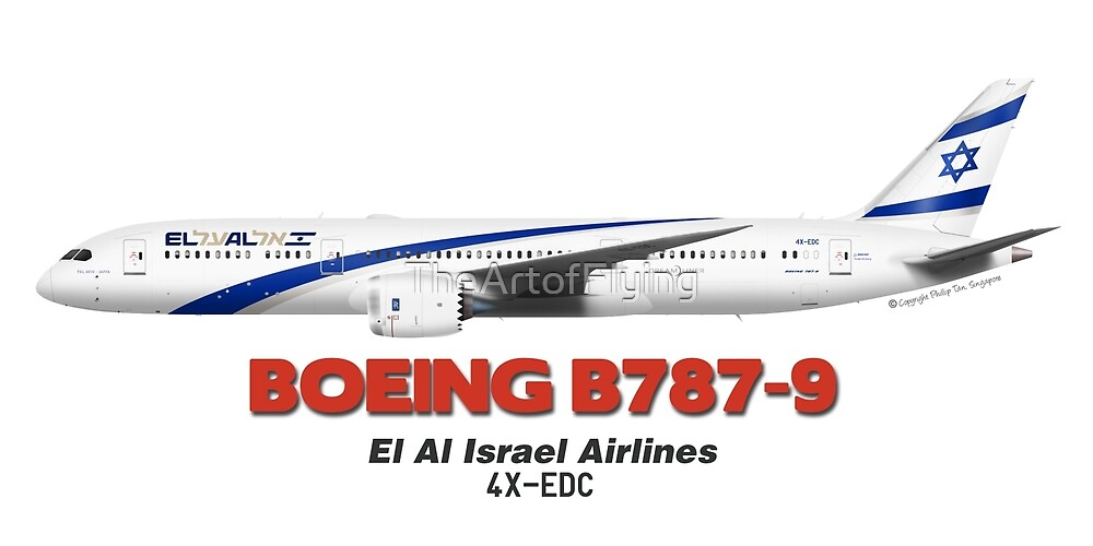 Boeing B787-9 - El Al Israel Airlines by TheArtofFlying