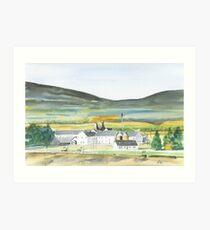 dalwhinnie distillery Art Print