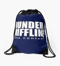Dunder Mifflin Inc. Drawstring Bag