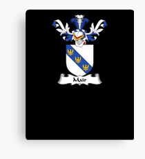 Mair Coat of Arms - Family Crest Shirt Canvas Print