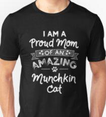 Munchkin Cat Mom  Unisex T-Shirt