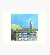 Oban Distillery Art Print
