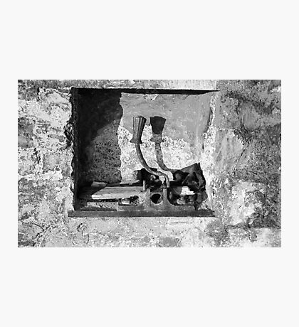 A Yoke In A Wall Photographic Print